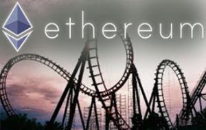 Ethereum roller coaster