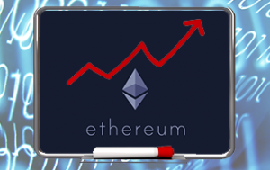 Ethereum price rise